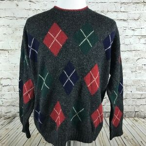 Brooks Brothers Sweater Size Large Wool Shetland